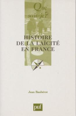 Histoire de la laicite en france jean bauberot